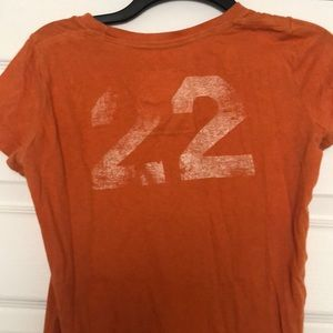 Hollister Tops - Orange Hollister Shirt